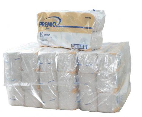 Lucart Econatural recy 2r. 400 lapos háztartási toalettpapír