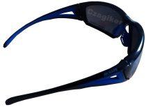 M-Safe védőszemüveg fekete-kék