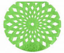 Pissoir illatosító rács zöldalma