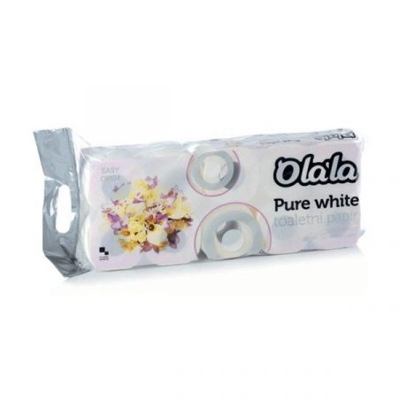 OLALA Pure White wc papír