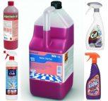 Vízkőoldó- és szanitertisztító szerek