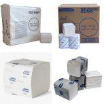 Hajtogatott toalettpapírok